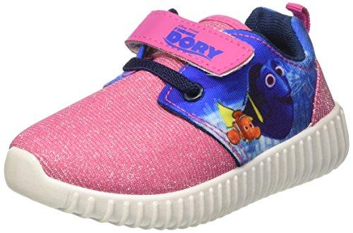 Walt Disney Baby Mädchen S17102gaz Krabbel-& Hausschuhe Rosa (Fuxia)