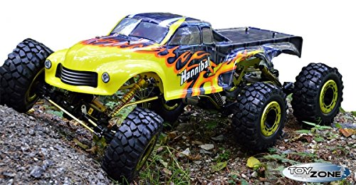 RC Auto kaufen Monstertruck Bild 4: RC Monstertruck Crawler 6 x 6 Climber Rock Fighter Hannibal XXL 104 cm 1:5 HSP 2,4 GHz RTR*