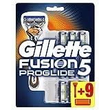 Gillette Fusion5 ProGlide Rasierer Für Männer mit 10 Rasierklingen