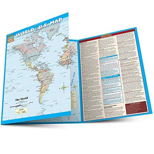 World & U.S. Map