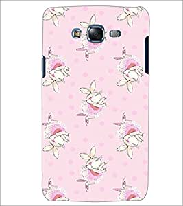 PrintDhaba Bunny pattern D-2091 Back Case Cover for SAMSUNG GALAXY ON 7 (Multi-Coloured)
