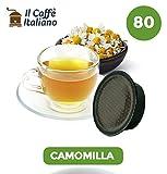 80 capsule compatibili Lavazza a modo mio - 80 capsule Camomilla compatibili macchina caffè Lavazza a modo mio - Macchina caffè Lavazza kit 80 capsule compatibili - Il Caffè Italiano