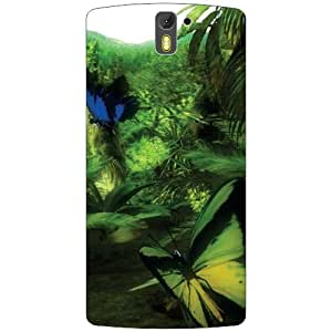 Oneplus One A0001 Back Cover - Greenery Designer Cases