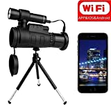 VISTANIA Monocular Infrared Night Vision Binoculars With WIFI Connect With Mobilephone For View