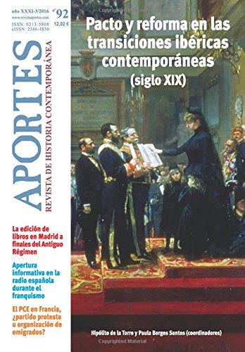 Aportes. Revista De Historia Contemporánea 92, Xxxi