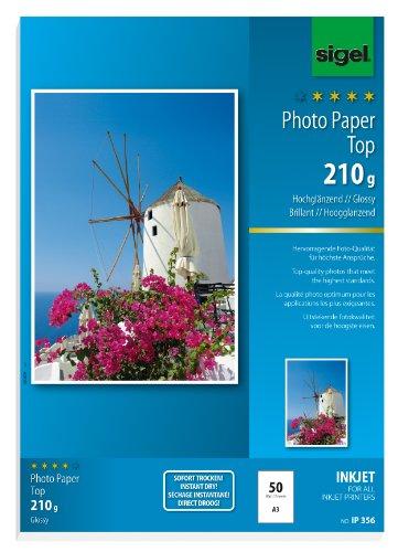 sigel-papier-photo-jet-dencre-top-haute-brillance-a3-210-g-m2-extra-blanc-contenu-50-feuilles-ip356