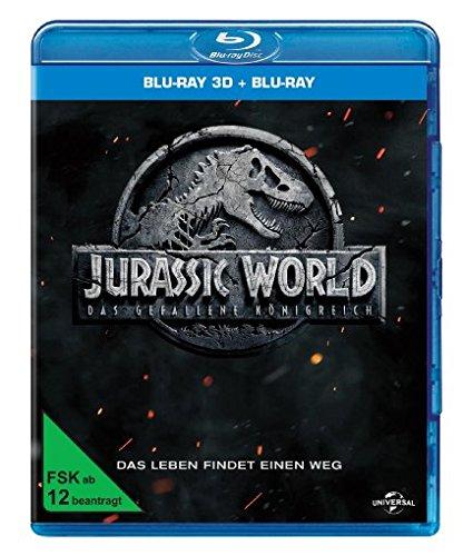 Produktbild Jurassic World: Das gefallene Königreich  (Blu-ray 3D + Blu-ray)