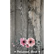 Password Book: Modern Password Keeper, Vault, Notebook, Journal and Organizer - Web Password Book 5 by 8 Over 100 Pages: Password Book