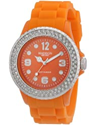 Madison New York Unisex-Armbanduhr Juicy Glamour Analog Silikon U4101E5
