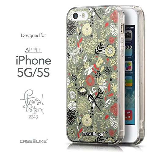 CASEiLIKE Comic Beschriftung 2914 Ultra Slim Back Hart Plastik Stoßstange Hülle Cover for Apple iPhone 5G / 5S +Folie Displayschutzfolie +Eingabestift Touchstift (Zufällige Farbe) 2243