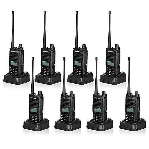 BaoFeng 128CH Dual Band VHF 136-174 MHz & UHF 400-520MHz Talkie Walkie Transceiver 2-Wege-Radio Portable Handheld Wasserdichte Interphone-Taschenlampe