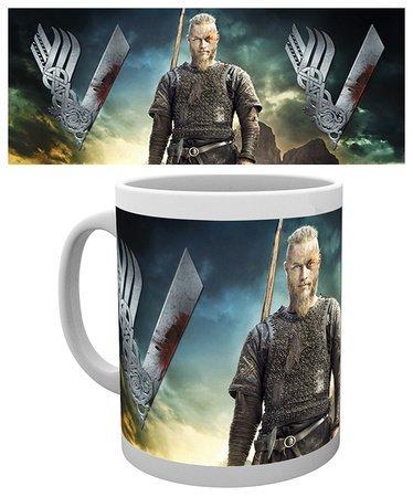 """Taza Vikings/Vikingos """"Ragnar Lodbrok"""""""