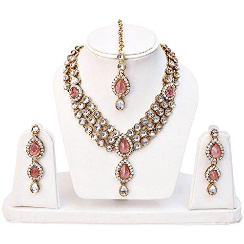 shining-diva-fashion-jewelry-pink-kundan-wedding-stylish-fancy-party-wear-traditional-necklace-set-jewellery-set-with-earrings-for-women-girls