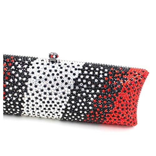 Damen-Luxus-Diamant-Abendtasche Diamant-Handtasche OneColor
