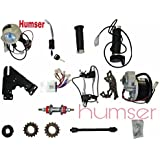 Humser™ 24V 250W Electric Conversion PMDC Motor Bicycle Kit (Silver)