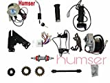 Humser 24V 250W Electric Bicycle Conversion PMDC Motor Electric Bicycle Kit