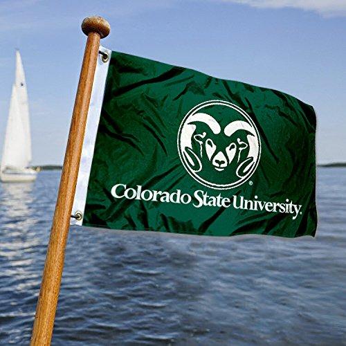 Colorado State University Golf Cart und Boot Flagge - Colorado State University