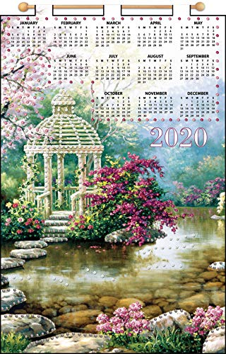 Design Works 2020 Calendar Felt Applique Kit 16