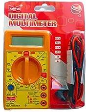 Generic DT830D Small Digital Multimeter, Yellow