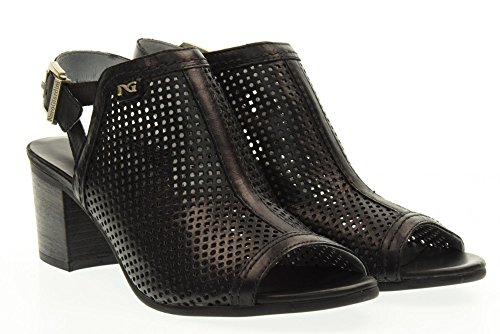 NERO GIARDINI scarpe donna sandali P717771D/100 Nero