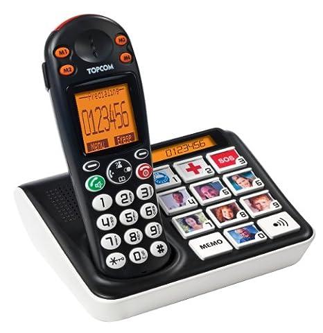 Tristar Sologic B935 Bildtasten-Telefon, schnurlos, hörgerätekompatibel, LCD, TS-5611