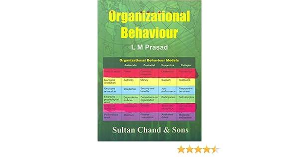 Organisational behaviour lm prasad ebook download