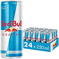 Red Bull Sugarfree, Bebida energética - 24 de 250 ml. (Total 6000 ml.)