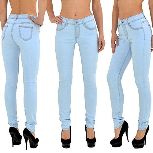 ... by- tex Damen Jeans Hose Damen High Waist Jeanshose Straight Leg  Hochbund Hosen bis Übergröße