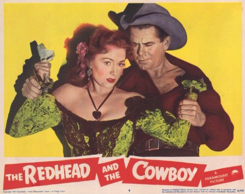 the-redhead-and-the-cowboy-poster-11-x-14-inches-28cm-x-36cm-1951-style-d