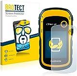 2x BROTECT HD-Clear Screen Protector Garmin eTrex 10 Protector - Crystal-Clear, Anti-Fingerprint