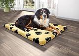 Orthopädisches Hundebett Visco, 80 * 100 * 5, Hundematratze,Hundebett, Visco, Hundematte,...