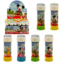 6 x MICKEY MOUSE DISNEY BUBBLES summer Party Bag Fillers Childrens outdoor toy