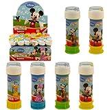 Seifenblasen-Set Mickie Maus, Disney, ideal für Kinder, 6-teilig