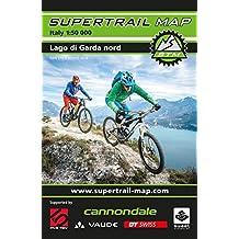 Supertrail Map Lago di Garda Nord: Maßstab 1:50 000