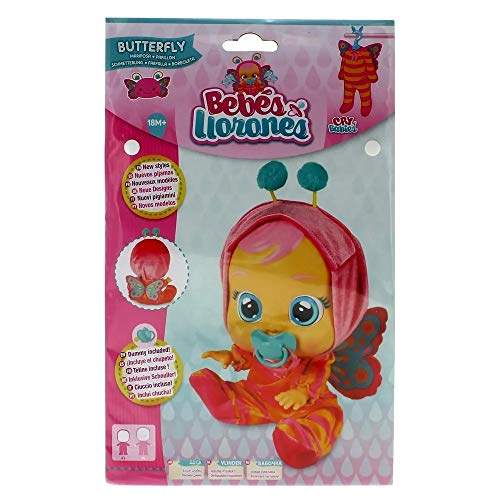Bebés Llorones Cry Babies Pijama Mariposa ( IMC Toys 99142)