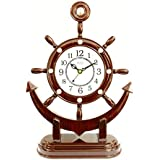E-DEAL Antique Look Analogue Table Clock For Home And Office For Premium Gift - EDALRM018