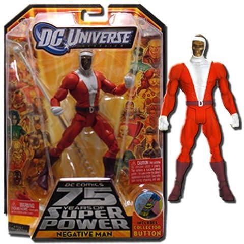 DC Universe Classics Action Figure Wave 13 - Negative Man (with Trigon piece)
