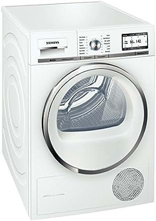 Siemens WT46Y780FF Autonome Charge avant 8kg A+ Blanc - sèche-linge (Autonome, Charge avant, Condensation, Blanc, 112 L, LCD)