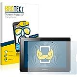 2x BROTECT Protector Pantalla Lenovo Tab A7600-F Wi-Fi Película Protectora – Transparente, Anti-Huellas