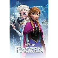 Poster Disney Frozen Anna & Elsa (61cm x 91,5cm)