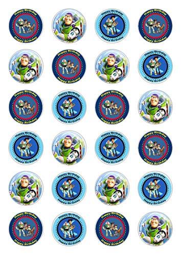 Essbare Cupcake-Dekoration Toy Story Celebration, 24 Stück