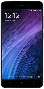 """Xiaomi Redmi 4A Smartphone da 5"""" HD, 2GB RAM, 16 GB ROM, Snapdragon 425 1,4 GHz, 13MP Camera, Android, Grigio"""