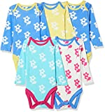 #8: Marks & Spencer Baby Boys' Sleepsuit (Pack of 5) (T786621MULTI_9-12M)