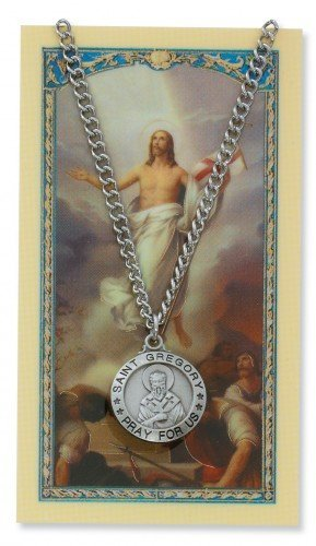 saint-gregory-3-4-inch-pewter-medal-pendant-necklace-with-holy-prayer-card-by-mcvan-inc