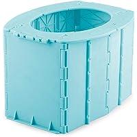 Commode De Toilette Portable, 22 11.8 14.5cm Oilette Pliante, Siège De Toilette Pliant Pour Enfants Camping Randonnée…