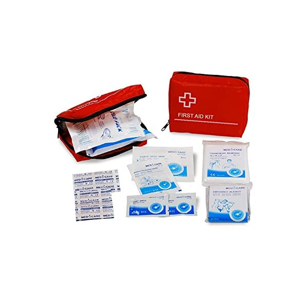 Bunty 34pcs Dog Cat Pet First Aid Kit Travel Home Holiday Medical Veterinary Care Set 1