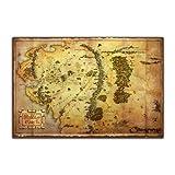 Der Hobbit - Karte von Mittelerde