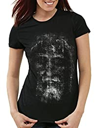 style3 Sudario de Turín Camiseta para Mujer T-Shirt Santo Oviedo