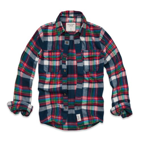 abercrombie-fitch-maglione-colletto-crew-uomo-navy-plaid-m