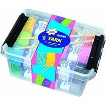 Playbox - Kit de agujas y lana para tejer (en caja)